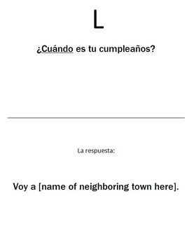 Spanish Interrogatives Walk Around Activity