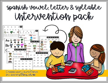 Spanish Intervention Pack (K-1)