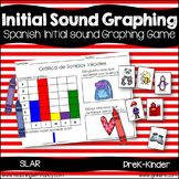Spanish:  Initial Sound Graphing Activity