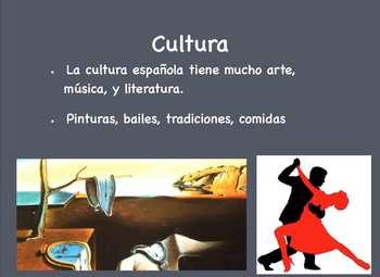Spanish Intro (Grades 7-9) Keynote Slideshow - Mac/Ipad