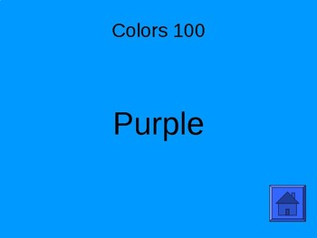 Spanish Intro Review Jeopardy