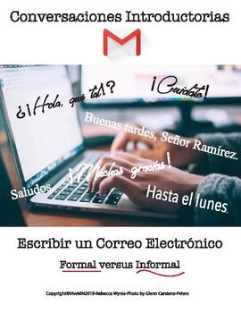 Spanish Introduction Email: Formal versus Informal Writing