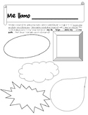 Spanish Introduction Project - No prep -Printable-Beginnin