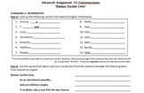 Intruducciones - Spanish Introductions, Alphabet, & Numbers Week Unit