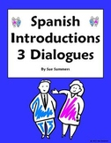 Spanish Introductions, Greetings & Leave Takings - 3 Dialo