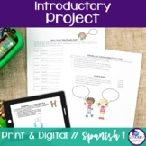 Spanish Introductory Project