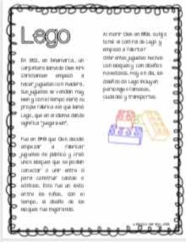 Inventos Modernos en Español. Modern Inventions