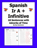 Spanish Ir A + Infinitive 18 Sentences With Adverbs of Time