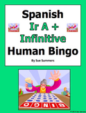 Spanish Ir A + Infinitive Human Bingo Game Speaking Activity