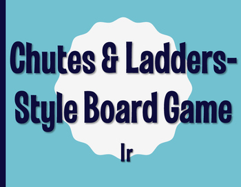 Spanish Ir Chutes and Ladders-Style Game