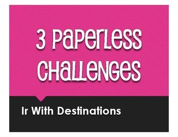 Spanish Ir Paperless Challenges