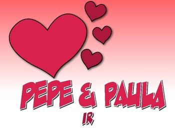 Spanish Ir Pepe and Paula Reading