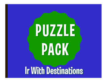 Spanish Ir Puzzle Pack