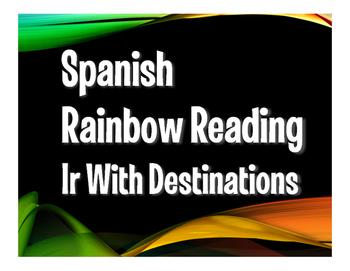 Spanish Ir Rainbow Reading