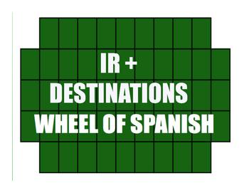 Spanish Ir Wheel of Spanish