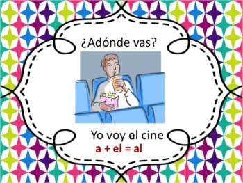 Spanish Ir and Places Powerpoint