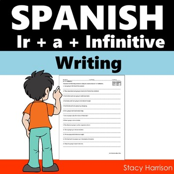 Spanish Ir+A+Infinitive 12 Sentences with Adverbs of Time