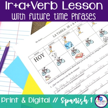 Spanish Ir+a+Verb with Future Time Phrases Lesson