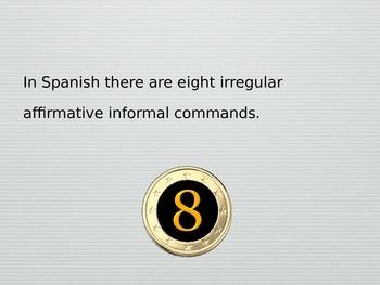 Spanish Irregular Affirmative Informal Commands PowerPoint