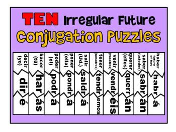 Spanish Irregular Future Puzzles
