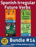 Spanish Irregular Future Verbs Bundle. Verbos Irregulares