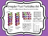 Spanish Irregular Past Participles Bulletin Board Set w/Ac