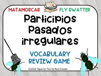 Spanish Irregular Past Participles Participios irregulares