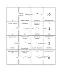 Spanish Irregular Preterite Box Puzzle