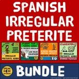 Spanish Irregular Preterite Verbs BUNDLE. Verbos Pretérito Irregular Español