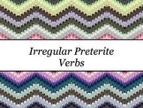 Spanish Irregular Preterite Verbs PowerPoint Slideshow Presentation