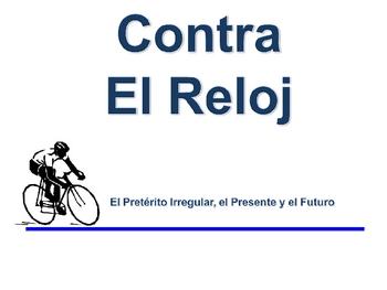 Spanish Preterite (Irregular ) Writing Activity, Powerpoint