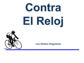 Spanish Irregular Verbs Writing Activity, Powerpoint