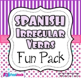 Spanish Irregular Verbs Fun Pack