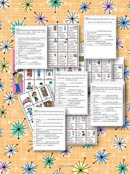 Spanish Irregular Verbs/ Verbos irregulares ..juegos, hojas de trabajo y mas.