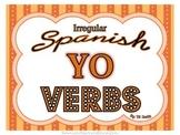 Spanish Irregular YO Verbs PICTURE Notes Powerpoint BUNDLE