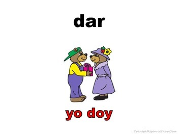 Spanish Irregular YO Verbs PICTURE Notes Powerpoint BUNDLE