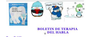 Spanish January Newsletter