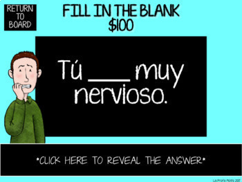 Spanish Jeopardy-Style Trivia Games BUNDLE #1