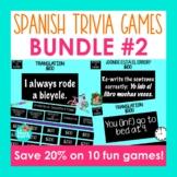 Spanish Trivia Games Bundle 2 | Jeopardy-Style Spanish Rev