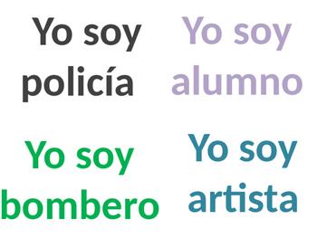 Spanish Jobs / Professions