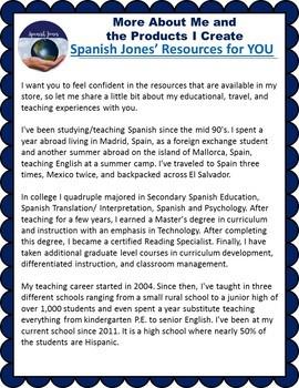 Spanish Joe's Resources for YOU - Bio
