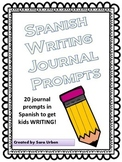 Spanish Journal Prompts