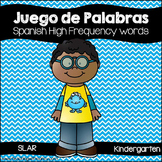 Spanish: Juego de Palabras de Uso Frequente