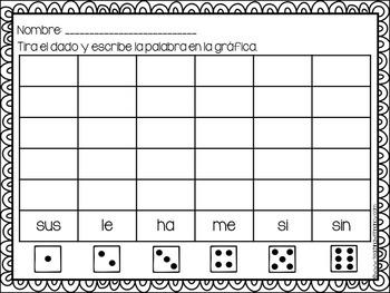 Spanish: Juego de Palabras de Uso Frequente (set 2)