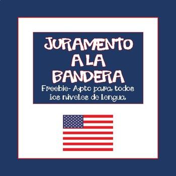 Spanish. Juramento a la Bandera/Pledge of Allegiance