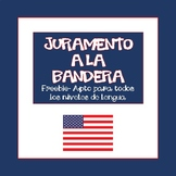 Spanish. Juramento a la Bandera/Pledge of Allegiance