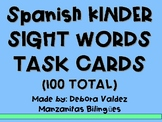 Spanish Kinder Sight Words
