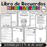Spanish Kindergarten Memory Book
