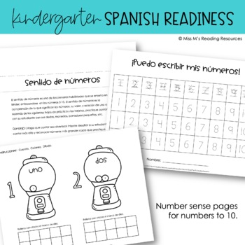 Spanish Kindergarten Readiness Handbook