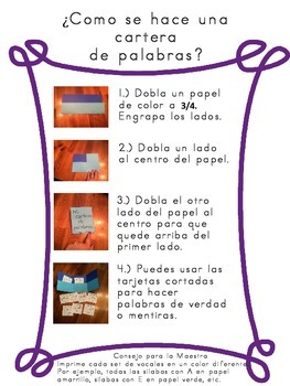 Spanish Kindergarten Summer Review Packet